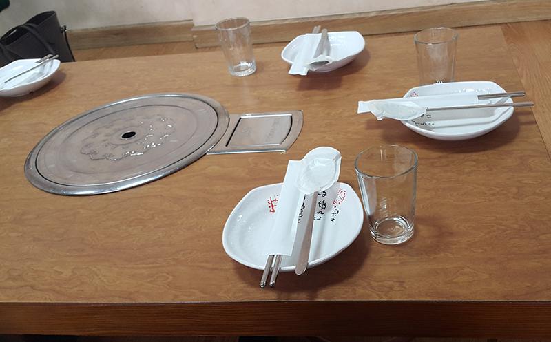 طاولة الطعام
