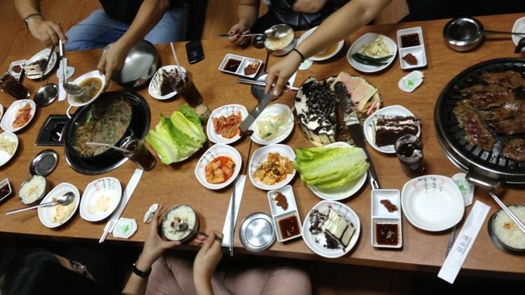 مطعم هانكوك الكوري