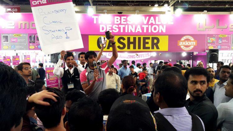 جايتكس دبي: هاتف بلاكبيري بأقل من دولار